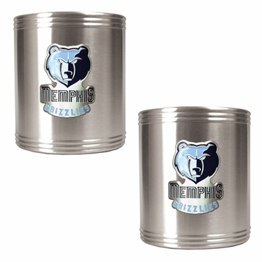 Memphis Grizzlies 2 Can Holder Set