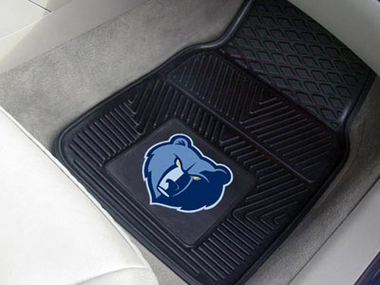 Memphis Grizzlies 2 Piece Heavy Duty Vinyl Car Mats