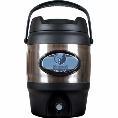 Memphis Grizzlies 3 Gallon Stainless Steel Jug