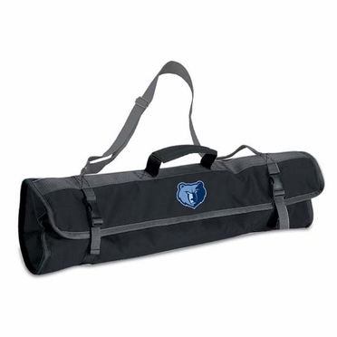Memphis Grizzlies 3pc BBQ Tote (Black)
