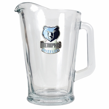Memphis Grizzlies 60 oz Glass Pitcher