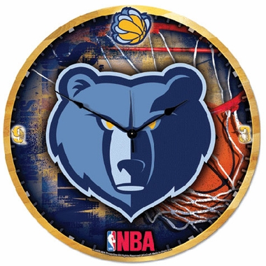 Memphis Grizzlies Big 18 Inch Hi Definition Clock