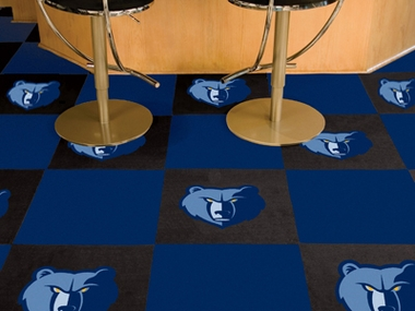 Memphis Grizzlies Carpet Tiles