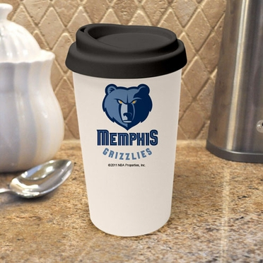 Memphis Grizzlies Ceramic Travel Cup