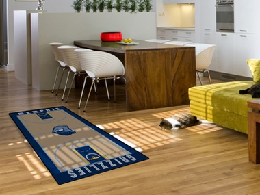 Memphis Grizzlies Court Runner Rug