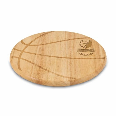 Memphis Grizzlies Free Throw Cutting Board
