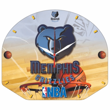 Memphis Grizzlies High Definition Wall Clock