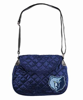 Memphis Grizzlies Quilted Saddlebag