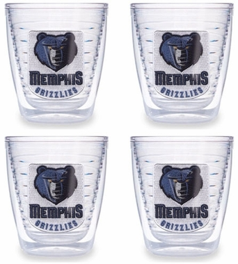 Memphis Grizzlies Set of FOUR 12 oz. Tervis Tumblers