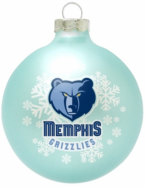 Memphis Grizzlies Traditional Ornament