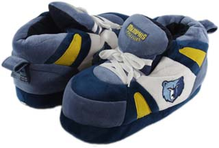 Memphis Grizzlies UNISEX High-Top Slippers - Large