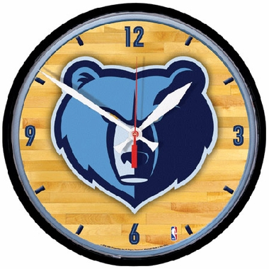 Memphis Grizzlies Wall Clock