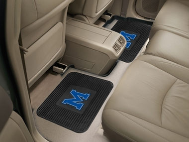 Memphis SET OF 2 Heavy Duty Vinyl Rear Car Mats