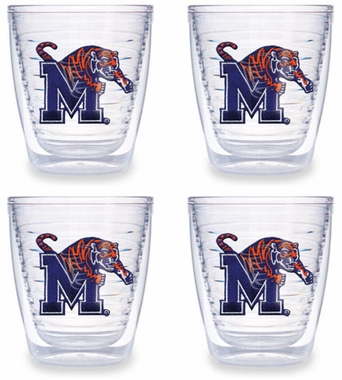 Memphis Set of FOUR 12 oz. Tervis Tumblers