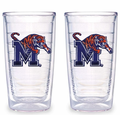 Memphis Set of TWO 16 oz. Tervis Tumblers