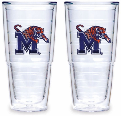 Memphis Set of TWO 24 oz. Tervis Tumblers