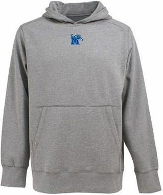 Memphis Mens Signature Hooded Sweatshirt (Color: Gray)