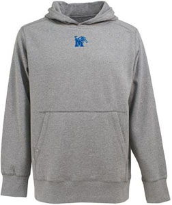 Memphis Mens Signature Hooded Sweatshirt (Color: Gray) - Small