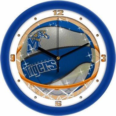 Memphis Slam Dunk Wall Clock