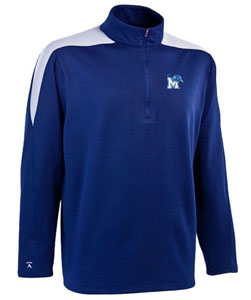 Memphis Mens Succeed 1/4 Zip Performance Pullover (Team Color: Royal) - Large