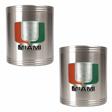 Miami 2 Can Holder Set
