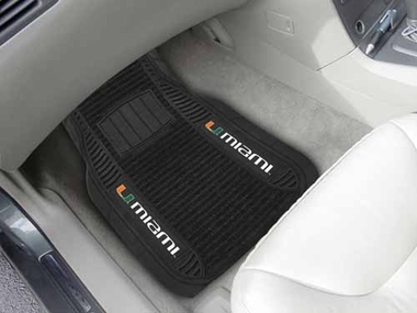 Miami 2 Piece Heavy Duty DELUXE Vinyl Car Mats