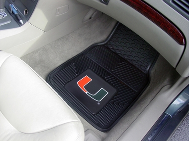 Miami 2 Piece Heavy Duty Vinyl Car Mats
