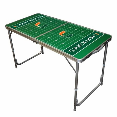 Miami 2 x 4 Foot Tailgate Table
