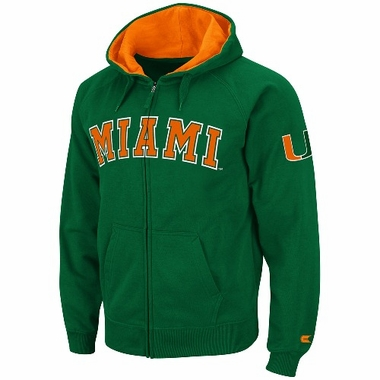 Miami 2012 Automatic Full Zip Hooded Sweatshirt