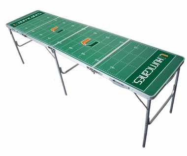 Miami 2x8 Tailgate Table