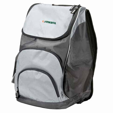 Miami Action Backpack (Color: Grey)
