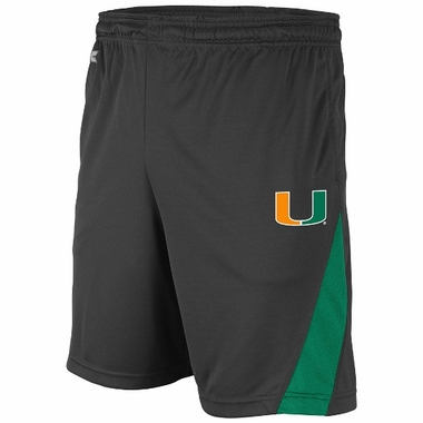 Miami Adrenaline Performance Shorts (Charcoal)