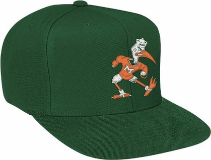 Miami Basic Logo Snap Back Hat