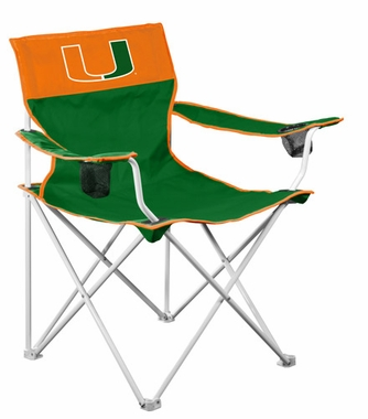 Miami Big Boy Adult Folding Logo Chair