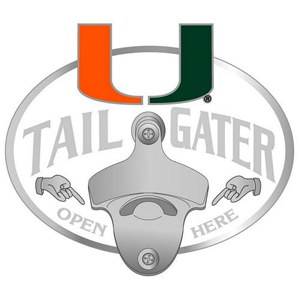 Miami Bottle Opener Hitch Cover