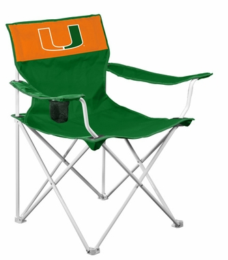 Miami Canvas Adult Folding Logo Chair