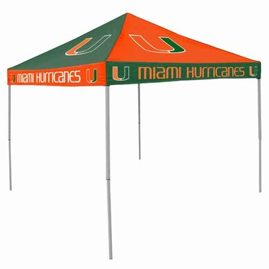 Miami Checkerboard Tailgate Tent