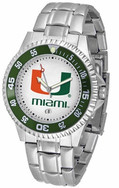 Miami Competitor Men's Steel Band Watch