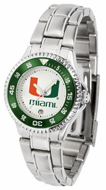 Miami Competitor Women's Steel Band Watch