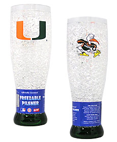 Miami Crystal Pilsner Glass