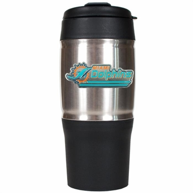 Miami Dolphins Heavy Duty Travel Tumbler