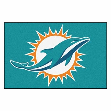 Miami Dolphins 20 x 30 Rug