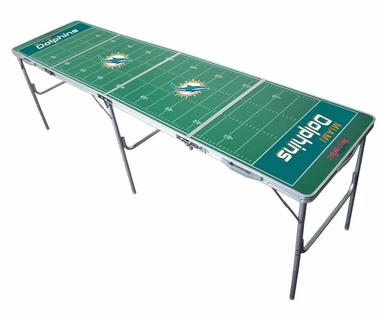Miami Dolphins 2x8 Tailgate Table