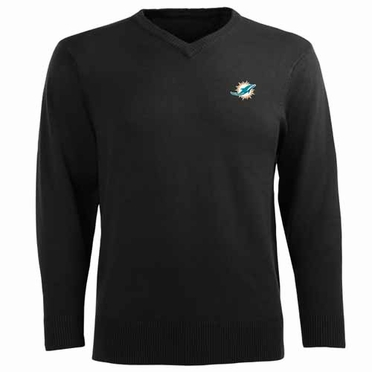 Miami Dolphins Mens Ambassador Sweater (Team Color: Black)