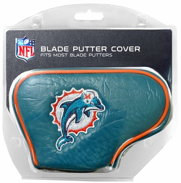 Miami Dolphins Blade Putter Cover