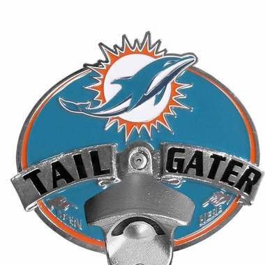 Miami Dolphins Bottle Opener Hitch Cover