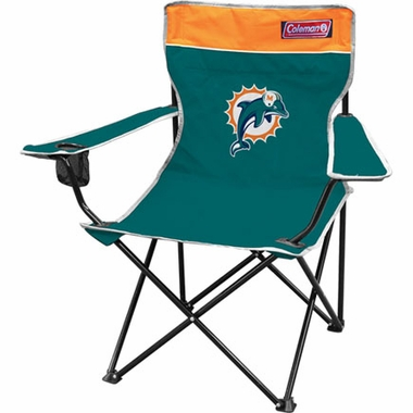 Miami Dolphins Broadband Quad Tailgate Chair