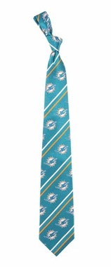 Miami Dolphins Cambridge Woven Silk Necktie
