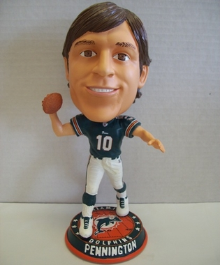 Miami Dolphins Chad Pennington 2009 Big Head Bobble