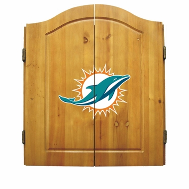Miami Dolphins Complete Dart Cabinet